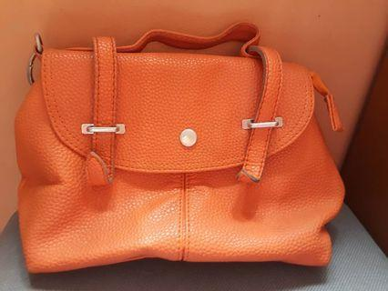 FLASH SALE 3 IN 1 LUMIERE BAG ORANGE