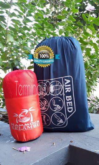 Paket Hammock Kelambu + Lazybag