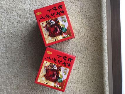 🚚 紅蘋果糖果盒 2 個