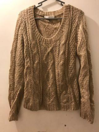 100% wool knitwear 針織上衣