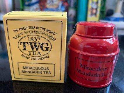 BNIB TWG Miraculous Mandarin Tea (loose leaf)
