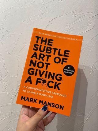 🚚 [BRAND NEW] The Subtle Art of Not Giving A F*ck