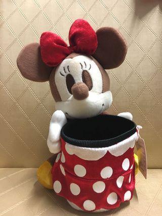 原裝 Minnie Mouse 公仔連籃🐭