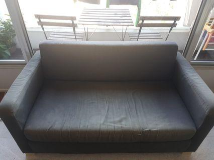 2seater Fabric Sofa or sofabed cheap