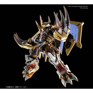 PRE ORDER November - Digimon Figure-rise Standard Wargreymon (Amplified Ver.) Model Kit