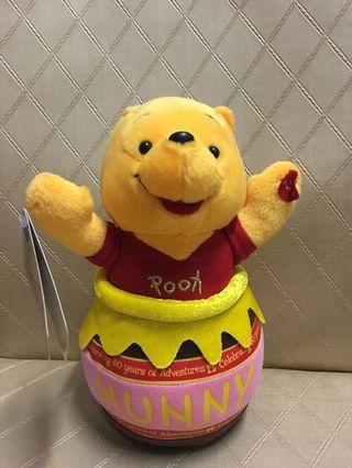 原裝 Winnie the Pooh轉圈公仔