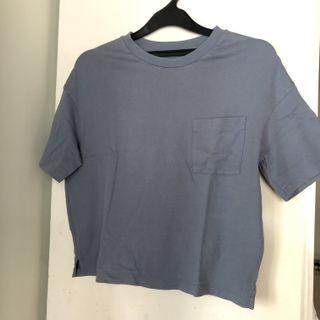 Uniqlo Blue Top