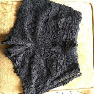 Black Shorts Motif