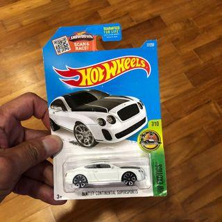 🚚 Hot Wheels Bentley Continental Superspprts