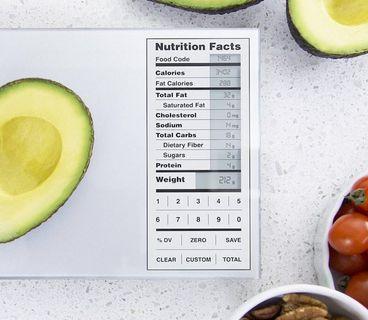 Nourish Digital Smart Kitchen Food Scale