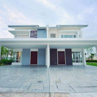 (Free MOT & 0%DP ) Double storey terrace house