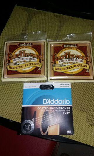 Strings for Acoustic Guitar US made