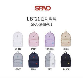 [ Preorder] BT21 x SPAO Backpack