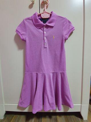 [Clearance] Ralph Lauren Polo Dress in purple