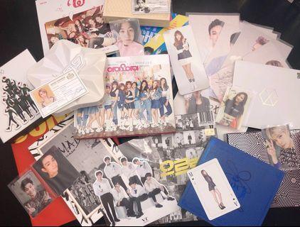 [WTS] BTS, EXO, GOT7, IOI, AOA, TWICE, WANNA ONE