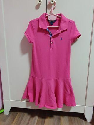 [Clearance] Ralph Lauren Polo dress in hot pink
