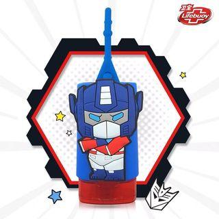 Kids Hand Sanitizer Travel Size Cartoon Transformer Silicone Lifebuoy