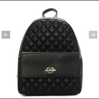 🚚 Love Moschino Quilted Small Backpack