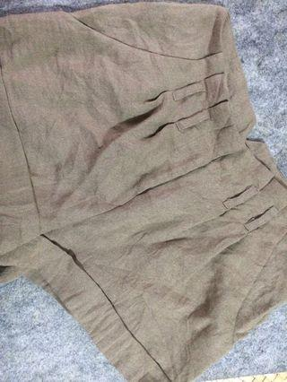 FOREVER 21 Brown High Waist Shorts
