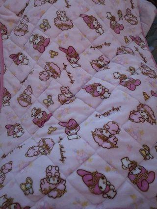 兩款Sanrio Melody沙發墊地氈床墊萬用墊 70*100