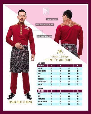 Baju Melayu Slim