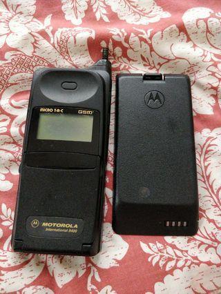 摩托羅拉 8400 古董手機 無電試機
