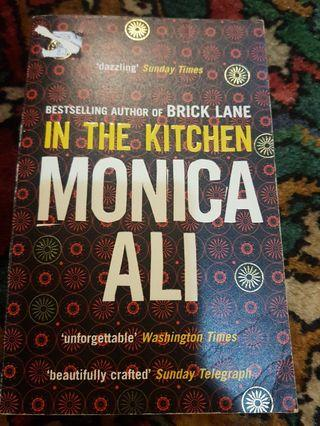 In the kitchen-monica ali