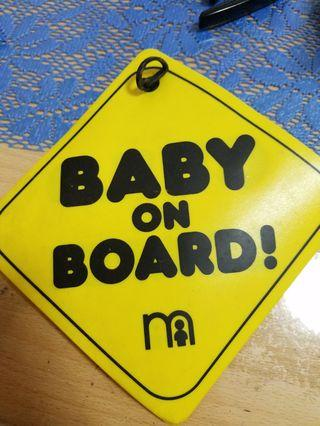 Child / baby on board