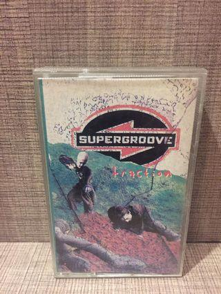 Kaset Pita Supergroove (Album: Traction)