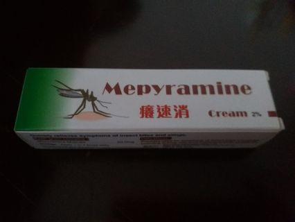 全新癢速消Mepyramine