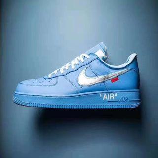 Nike Air Force 1 x OFF White Blue MCA
