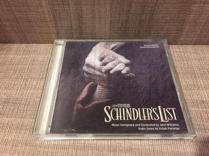 CD Sountrack Schindler's List