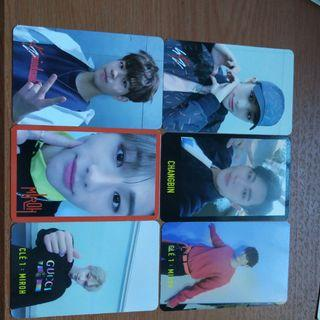Stray kids miroh photocards