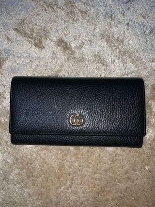 Gucci gg long wallet