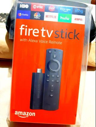 Amazon Fire TV Stick with Alexa Voice Remote, streaming media player