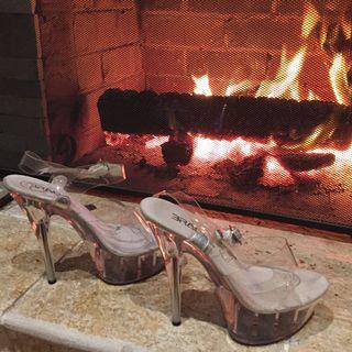 Stripper heels 🌸