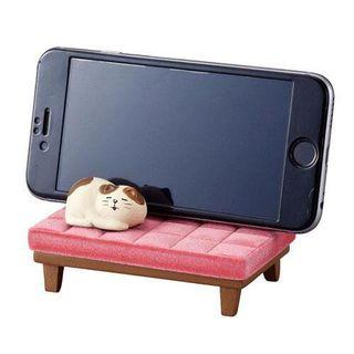 🚚 Decole 懶懶貓 手機座 日本連線代購