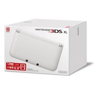 【清貨!99新主機】 任天堂港版3DS XL 白色 #007