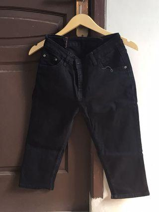 Jeans 7/8 hitam