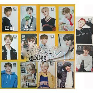 BTS World OST (double-sided).