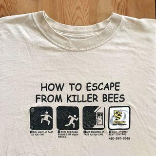Escape Killer Bees Vintage Tee
