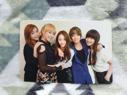 [OFFICIAL] f(x) Electric Shock group photocard
