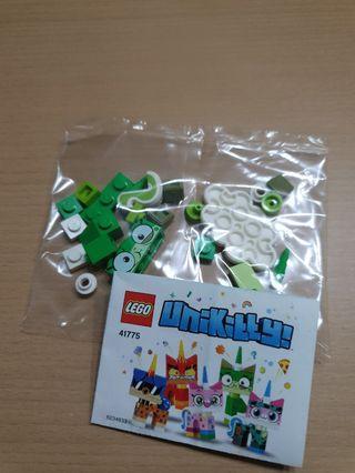 Lego Minifig minifigure Unikitty no. 11 green puke
