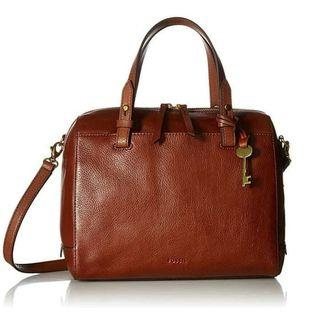 Tas fossil original - fossil rachel satchel brown full leather