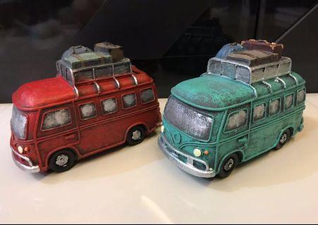 Coin Bank Bus