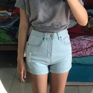 Zalora High Waist Shorts