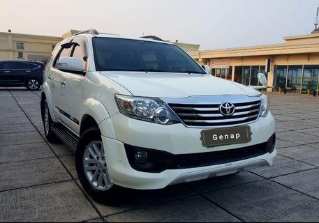 Toyota FortunerTRD G luxury 2.7 At 2013 Bayar 25 jt