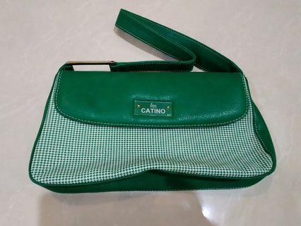 Hand Bag Hijau Les Catino