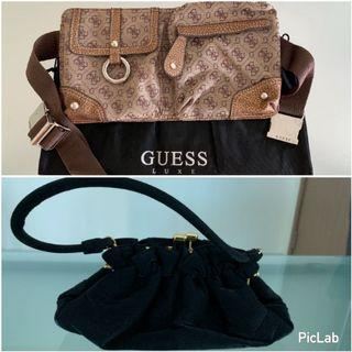 🚚 Guess waist pouch and dinner bag
