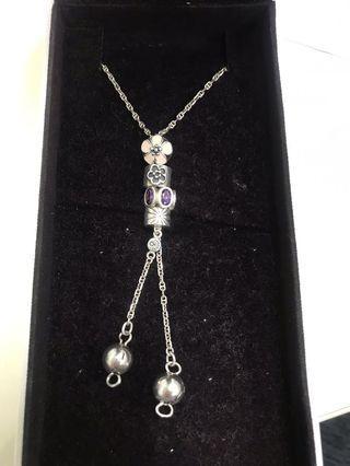 Pandora long necklace (100% real)